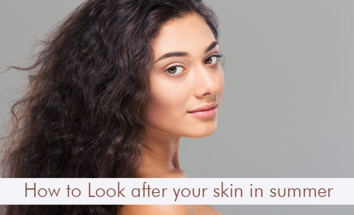 How to look after your skin in summer?