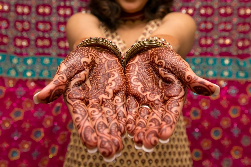 shutterstock 206772022 -  Best 10 Indian Mehndi Designs To Try In 2018
