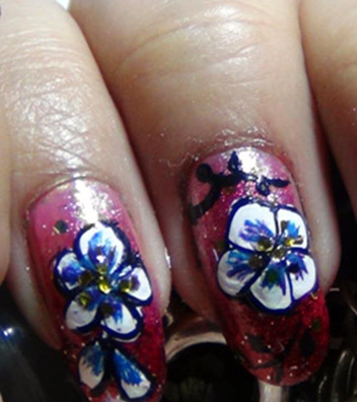 Amazing Hand Painted Nail Art Tutorial - 10 Amazing Hand Painted Nail Art Designs
