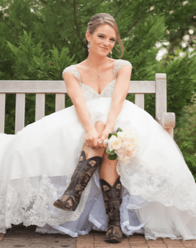 Bridal Wear and Cowboy Boots - Try Cute Dresses to Wear With Cowboy Boots
