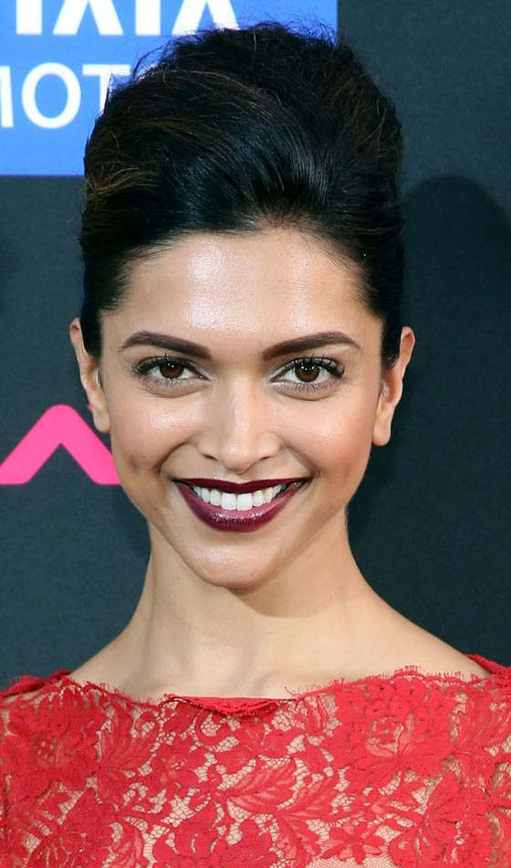 Deepika Padukone - 8 Indian Celebrities and Their Favorite Hairstyles