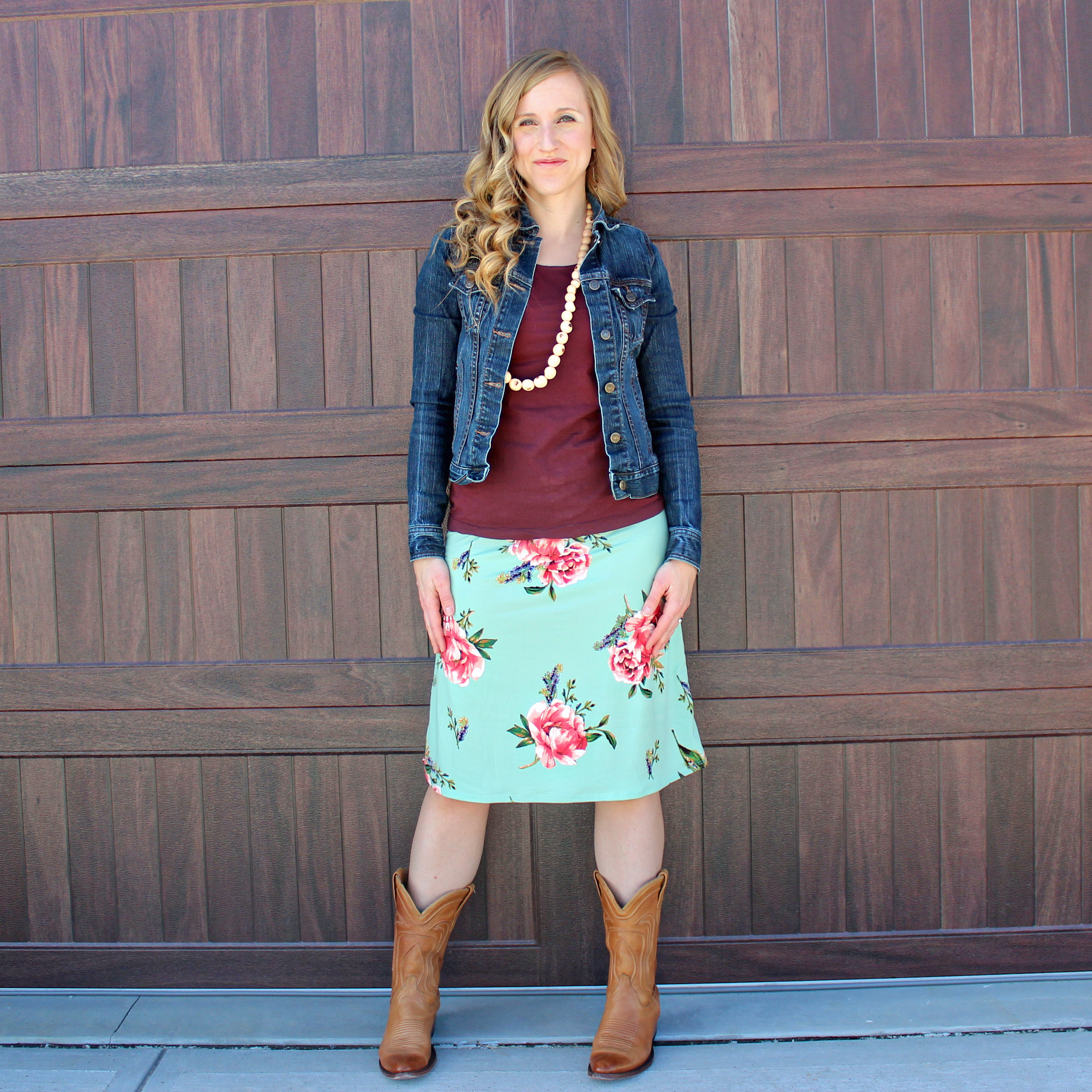 Floral Skirts and Cowboy Boots - Try Cute Dresses to Wear With Cowboy Boots