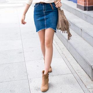 Frayed Shorts and Cowboy Boots - Try Cute Dresses to Wear With Cowboy Boots
