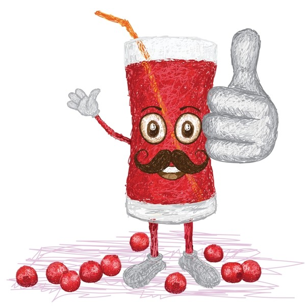 cranberry fruit juice mustache M1LwM1P  L - Is Cranberry Juice Useful For UTI & How?