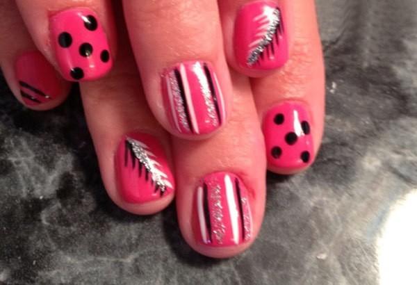 eight1 - 10 Amazing Hand Painted Nail Art Designs