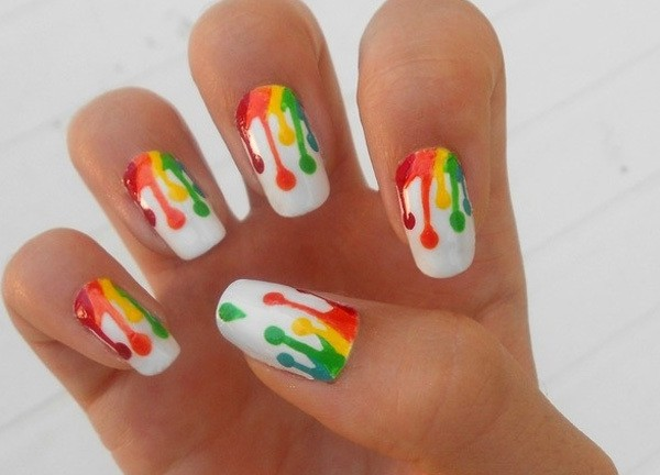 ten1 - 10 Amazing Hand Painted Nail Art Designs