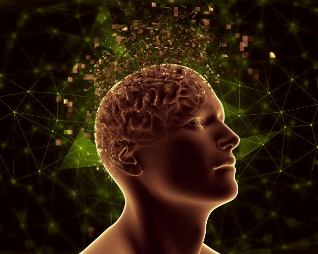 3d male figure with pixelated brain depicting mental health problems 1048 6468 - Why Learn Mental Health First Aid?