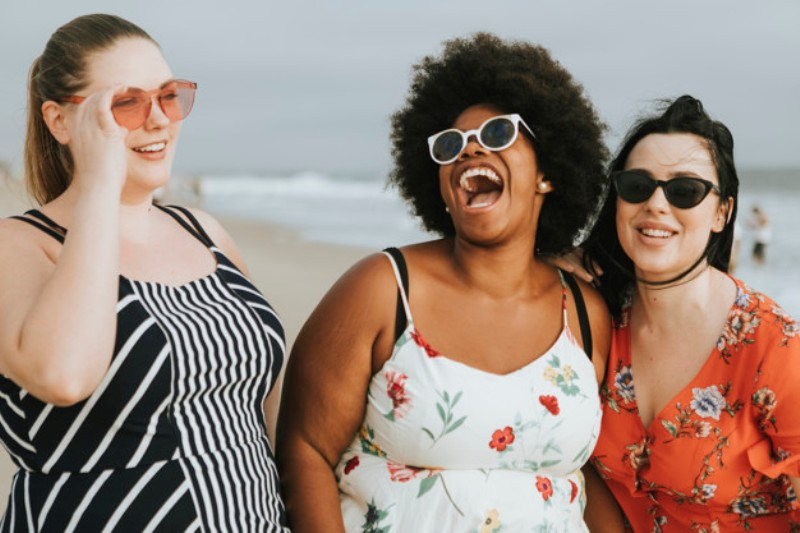 cheerful diverse plus size women beach 53876 63338 - Is obesity a disease?