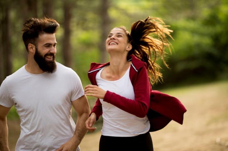 couple jogging outdoors nature 52137 1046 - Nagendra Gadamsetty
