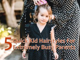 5 Quick Kid Hairstyles for Extremely Busy Parents