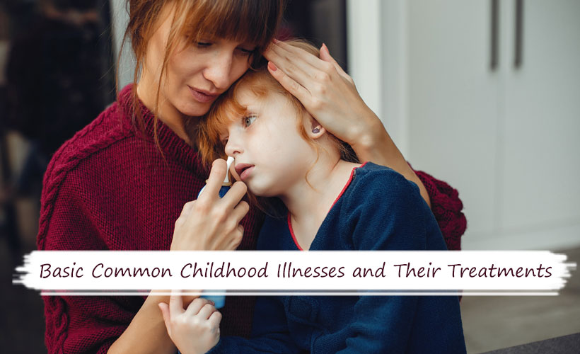 Basic Common Childhood Illnesses and Their Treatments - Site-Wide Activity