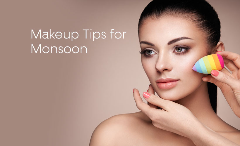 Makeup Tips for Monsoon - Site-Wide Activity