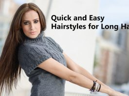 Quick and Easy Hairstyles for Long Hair
