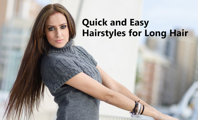 Quick and Easy Hairstyles for Long Hair 1 - Site-Wide Activity