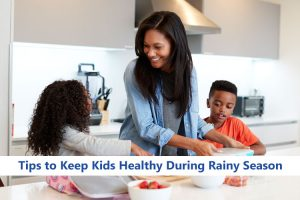Keeping Kids Healthy During Rainy Season