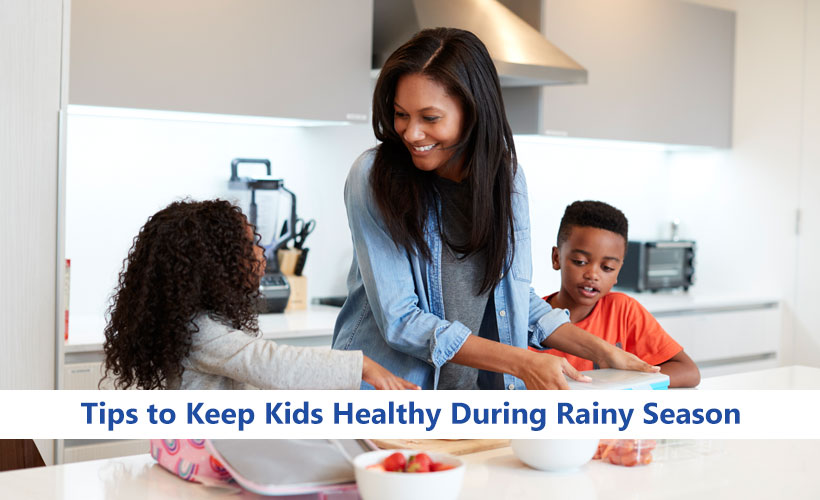 Tips to Keep Kids Healthy During Rainy Season - Site-Wide Activity
