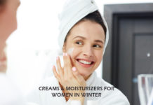 5 Creams & Moisturizers for Women in Winter