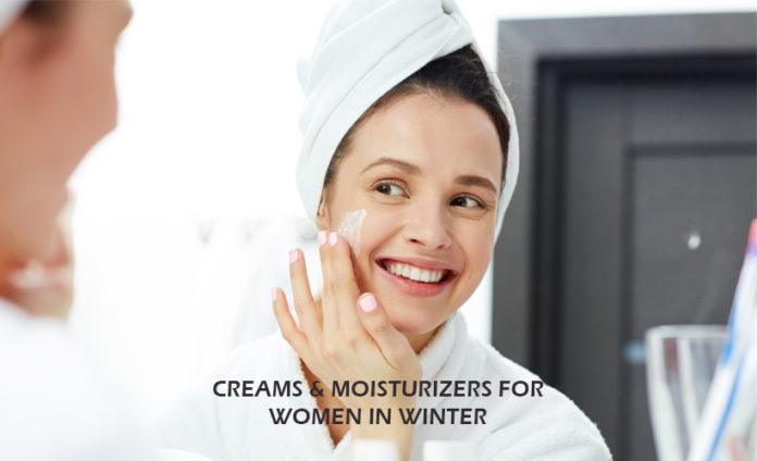 5 Creams & Moisturizers for Women in Winter