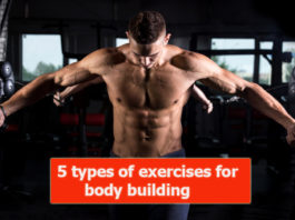 5 types of exercises for body building