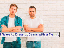 8 Ways to Dress up Jeans with a T-shirt