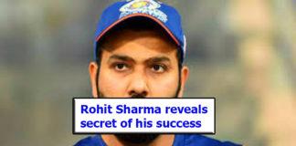 Rohit Sharma reveals secret of his success as Test open