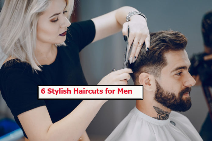 6 Stylish Haircuts for Men