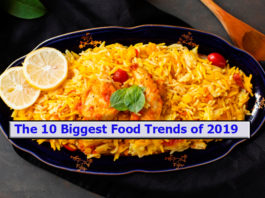 The 10 Biggest Food Trends of 2019
