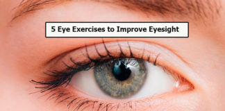 5 Eye Exercises to Improve Eyesight