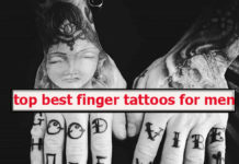 Top best finger tattoos for men