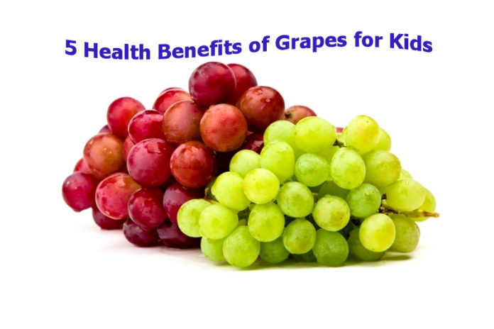 5 Health Benefits of Grapes for Kids