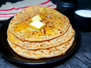20180924 224755 300x225 - How to make Paneer Paratha recipe?