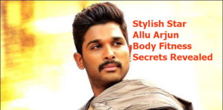 Stylish Star Allu Arjun Body Fitness Secrets Revealed