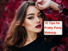 10 Tips for Pretty Party Makeup