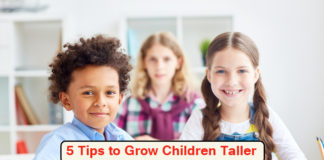 5 Tips to Grow Children Taller