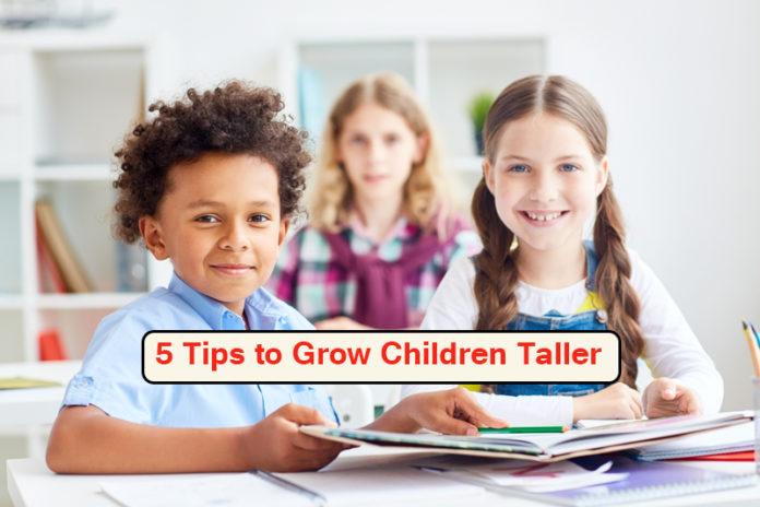 5 Tips to Grow Children Taller