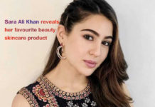 Sara Ali Khan reveals her favorite beauty skincare product
