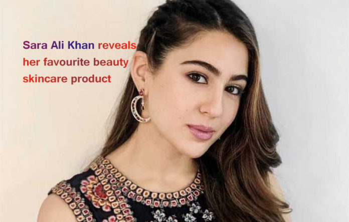 Sara Ali Khan reveals her favorite beauty skincare product