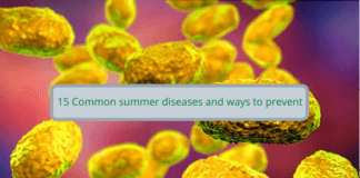 15 Common summer diseases and ways to prevent