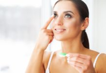 Makeup Tips for Wear Contact Lenses