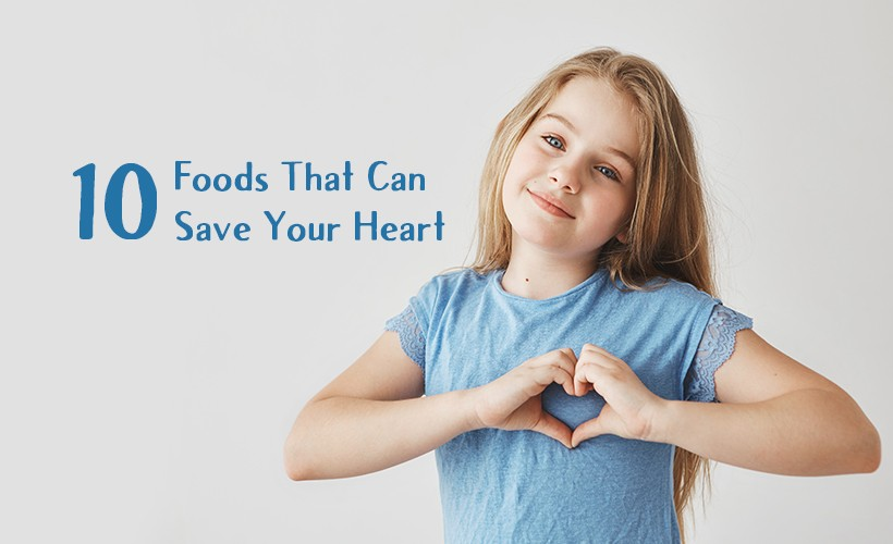 10 Foods That Can Save Your Heart - Nagendra Gadamsetty