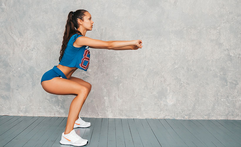 Squat Stretch - 5 Stretches for Immediate Relief of Back Pain