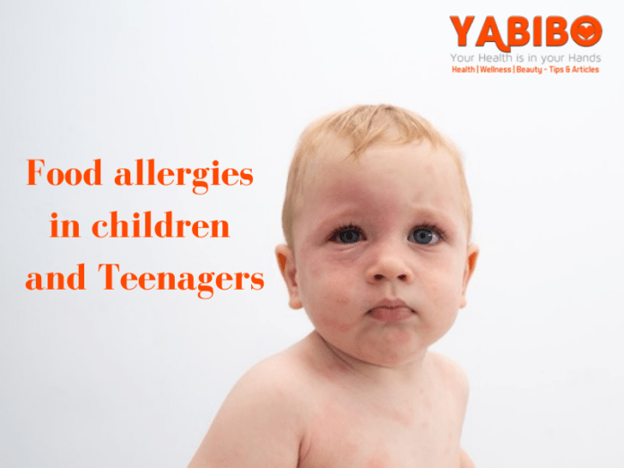 Food allergies in children and teenagers