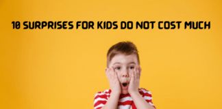 10 Surprises for Kids Do Not Cost Much