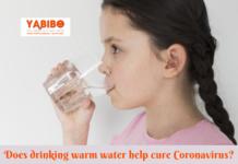 Does drinking warm water help cure Coronavirus?