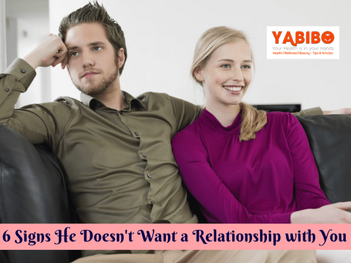 6 Signs He Doesn't Want a Relationship with You