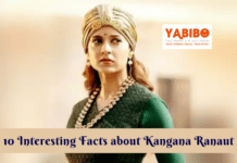 10 Interesting Facts about Kangana Ranaut