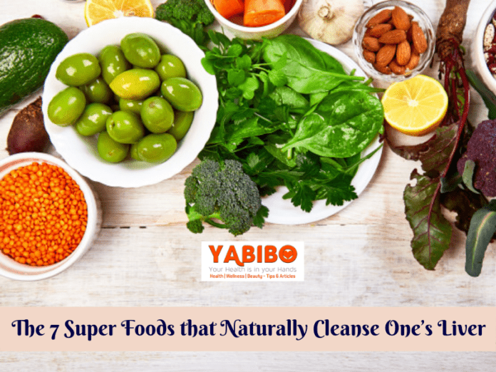 The 7 Super Foods that Naturally Cleanse One's Liver