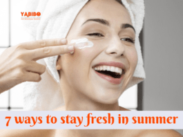 7 ways to stay fresh in summer