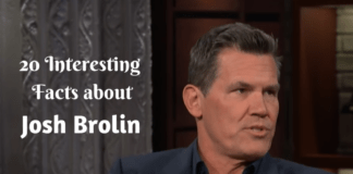 20 Interesting Facts about Josh Brolin