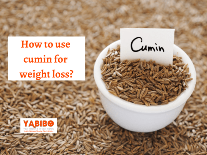 How to use cumin for weight loss?